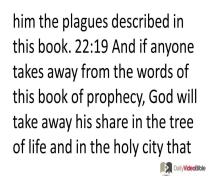 December 3 – Revelation 22 from the New Testament