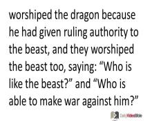 November 24 – Revelation 13 from the New Testament