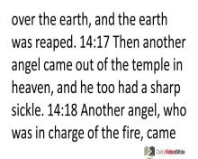 November 25 – Revelation 14 from the New Testament