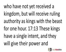 November 28 – Revelation 17 from the New Testament