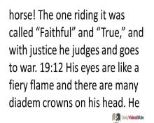 November 30 – Revelation 19 from the New Testament
